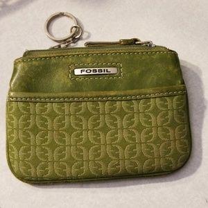 Fossel wallet keychain purse